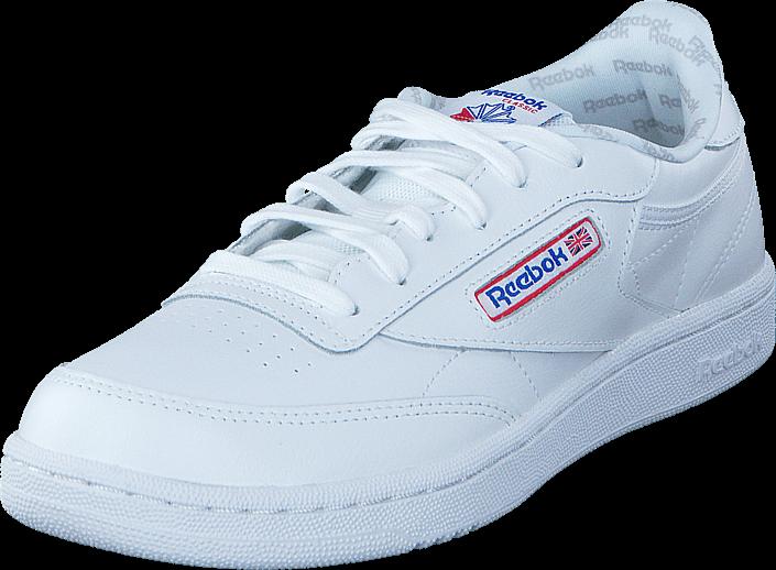Footway SE - Reebok Classic Club C So-White/Vital Blue/Primal Blu, Skor, Sneakers & Sportskor 497.00
