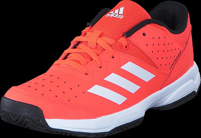 adidas Sport Performance Court Stabil Jr Solar Red/Ftwr White/Core Blac
