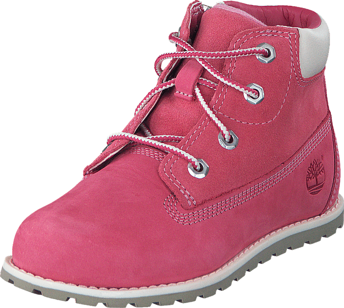 Footway SE - Timberland Pokey Pine Pink Nubuck, Skor, Kängor & Boots, Kängor, Rosa, Unisex, 2 747.00