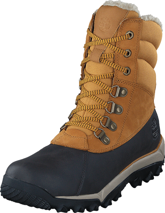 Timberland - Rime Ridge Wheat Travelbuck with Brown