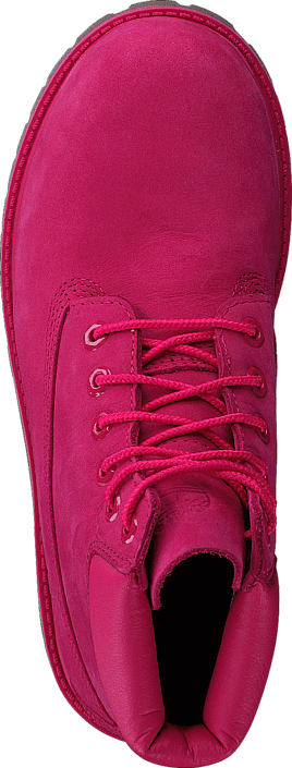 Timberland - 6 In Premium WP Boot Rose Red Waterbuck