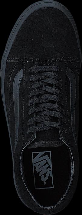 Vans UA Old Skool (Suede) Black/Black/Black