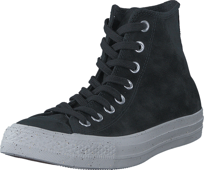 Converse All Star Nubuck Hi Black/Malted/Pale Putty