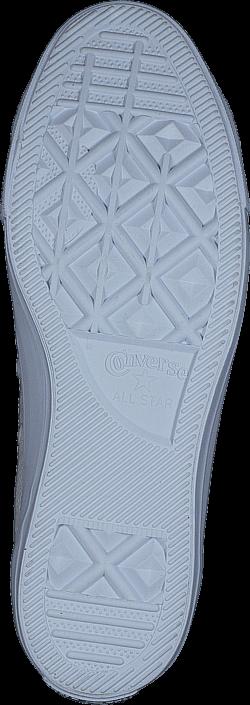 Converse - All Star Pebbled Leather Hi Egret/Egret/White
