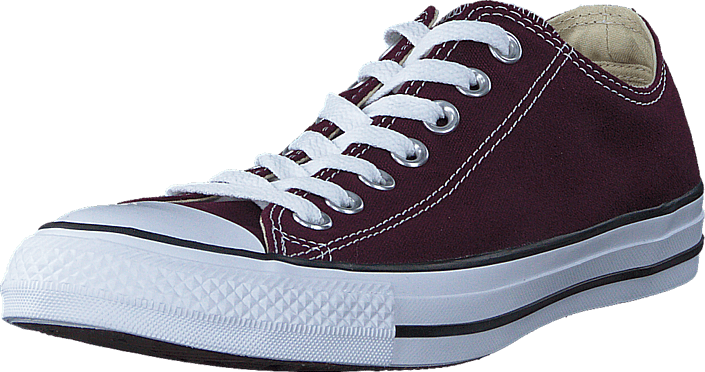 Converse All Star Seasonal Ox Dark Sangria, Sko, Sneakers & Sportsko, Lave Sneakers, Lilla, Unisex, 41