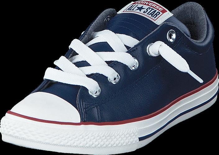 Converse All Star Street Fleece Slip Midnight Navy/Terra Red/Egret