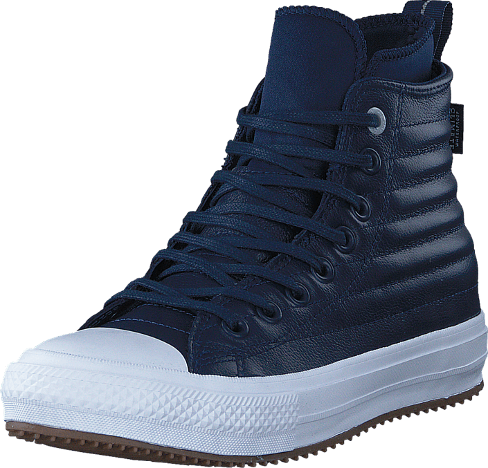 Converse All Star WP Boot Leather Hi Midnight Navy/Wolf Grey/White