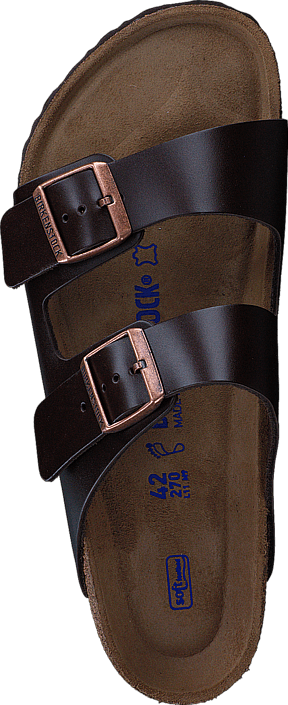 Birkenstock - Arizona Regular Soft Amalfi Dark Brown