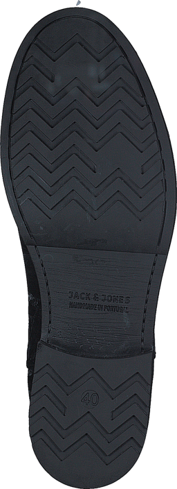 Jack & Jones - Greg Leather Chelsea Anthracite
