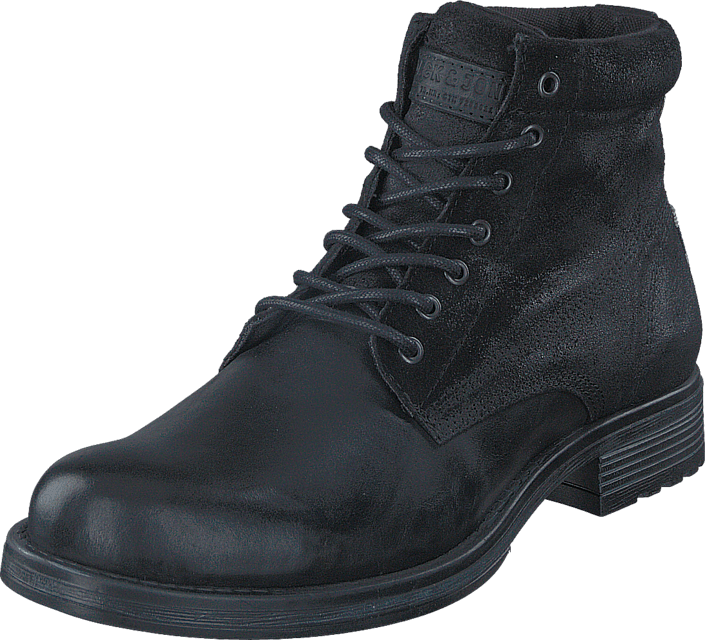 Jack & Jones - Justin Combo Leather Anthracite