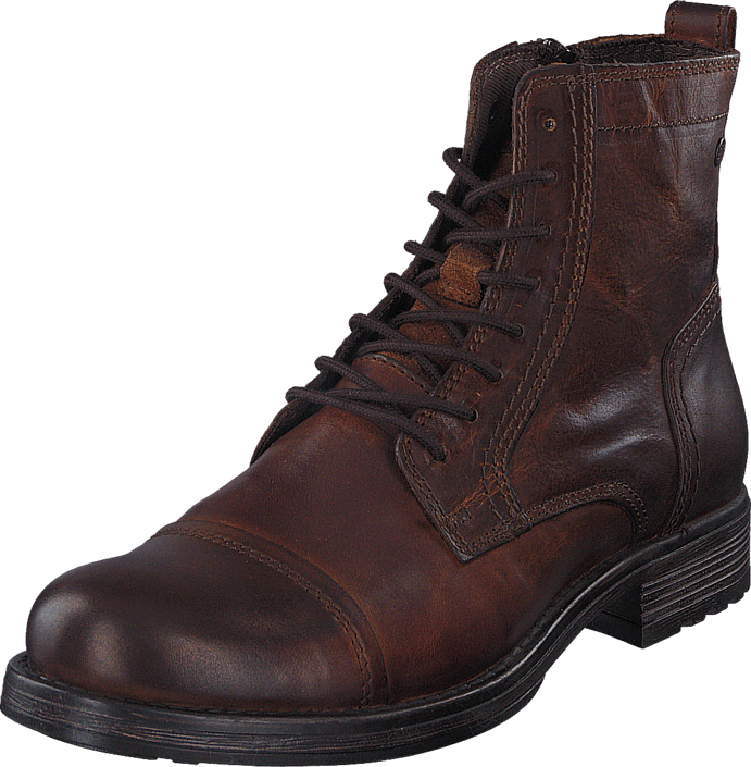 Jack & Jones - Jrussel Leather Cognac