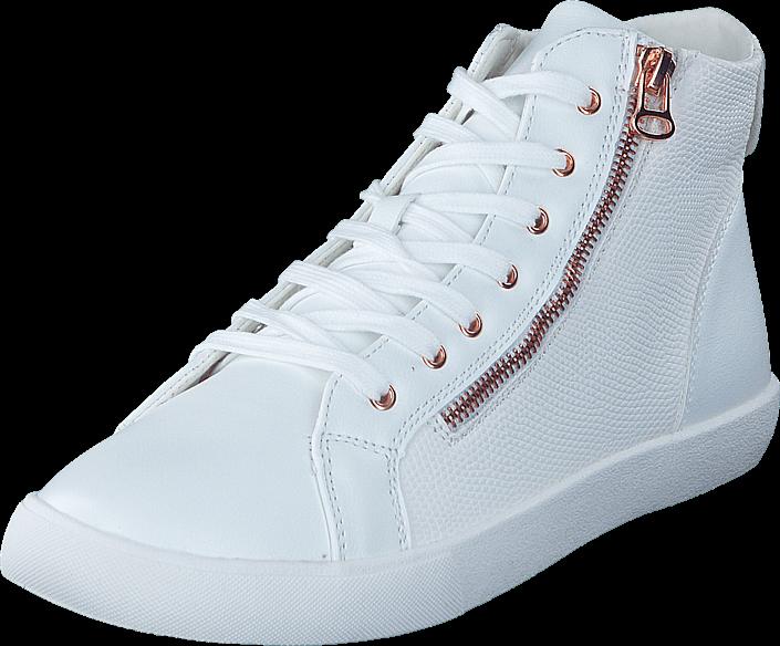 Footway SE - Duffy 73-04843 White, Skor, Sneakers & Sportskor, Höga sneakers, Vit, Dam, 39 487.00