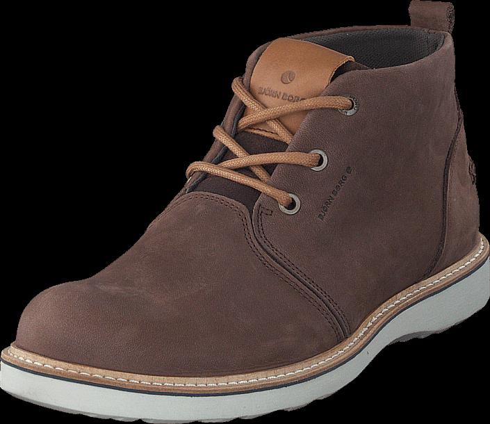 Footway SE - Björn Borg Milko 02 Mid M Dark Brown, Skor, Kängor & Boots, Chukka boots, Grå, B 1097.00