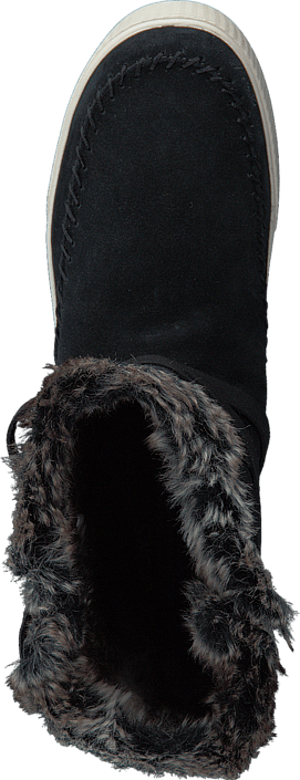 Toms - Vista Black/Waterproof/Faux Fur