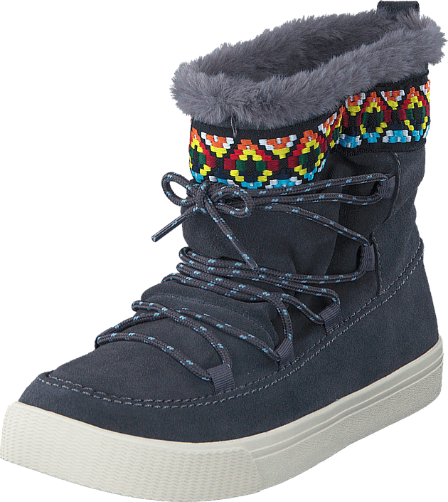 Toms - Alpine Iron Grey/Waterproof/Tribal