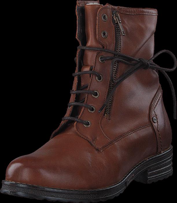 Footway SE - Emma 495-1066 Warm Lining Cognac, Skor, Kängor & Boots, Höga kängor, Brun, Dam,  897.00