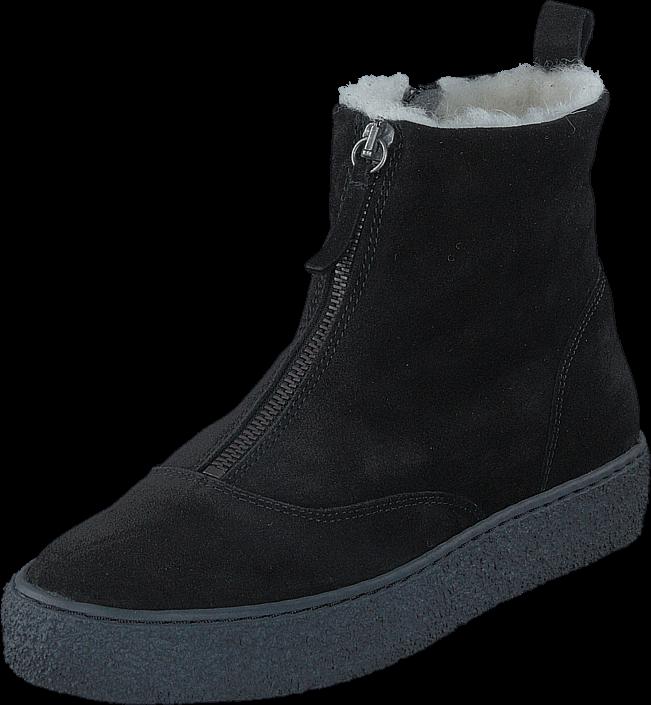 Emma 495-2127 Suede Wool Lining Black