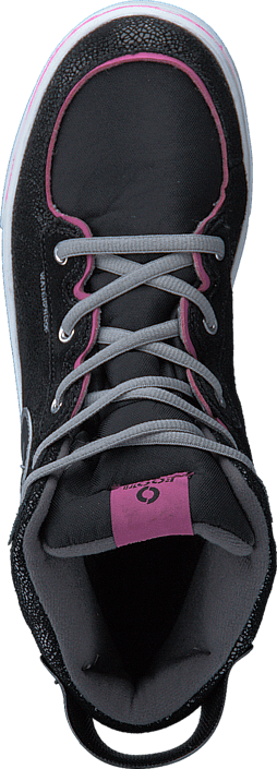 Footi - Cannon Warm Black/Pink