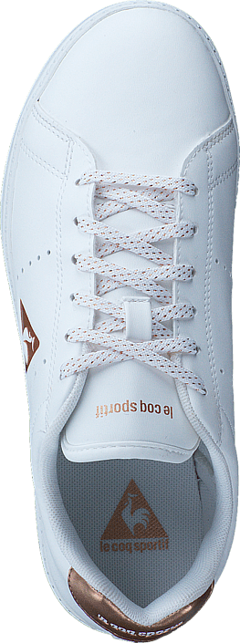 Le Coq Sportif - Courtone Gs S Lea/Metallic Opical White /Rose Gold