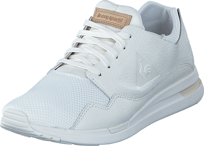 Le Coq Sportif Lcs Pure Leather Mesh Marshmallow/Turtle Dove, Sko, Sneakers & Sportsko, Sneakers, Hvid, Herre, 40