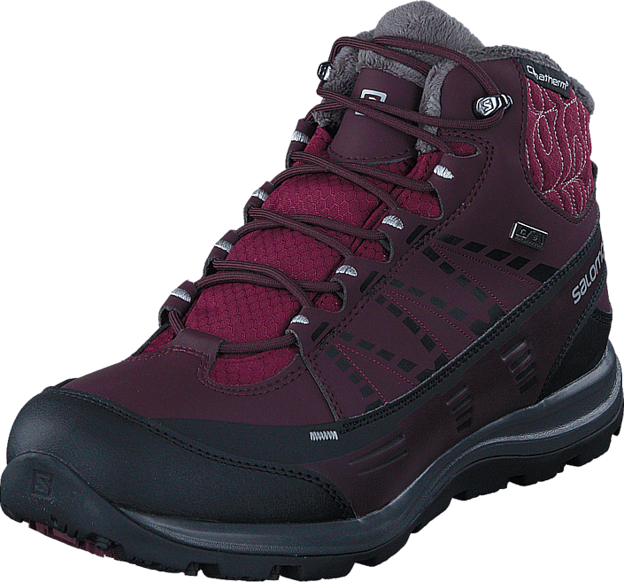 Salomon - Kaïna Cs Wp 2 Bordeaux/Purple Black/Alu
