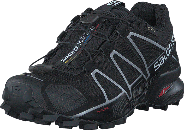 Salomon - Speedcross 4 GTX® Black/Black/Silvmetal