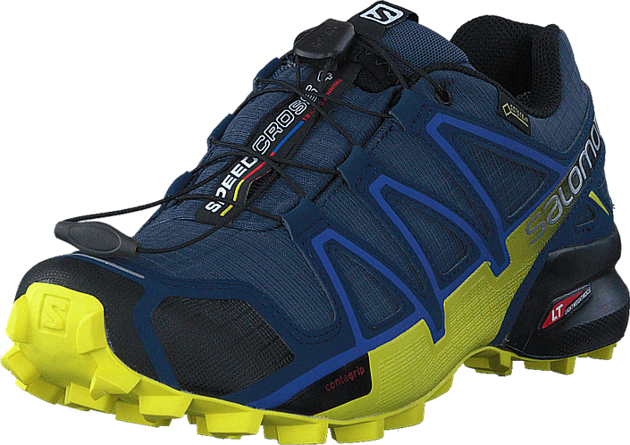 Salomon Speedcross 4 GTX® Slate Blue/BlueDepth/Coronyell