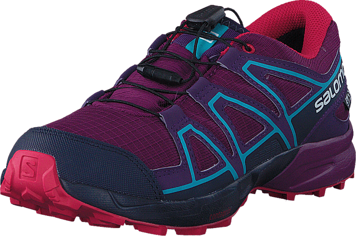 Footway SE - Salomon Speedcross Cswp J Grape Juice/Evening B/Bluebird, Skor, Sneakers & Sport 847.00
