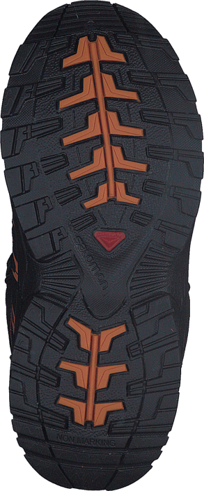 Salomon Xa Pro 3D Mid Cswp J Black/Black/Orange Rust
