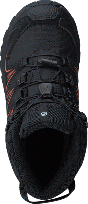 Salomon - Xa Pro 3D Mid Cswp J Black/Black/Orange Rust