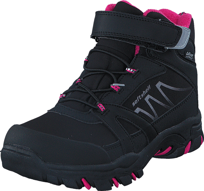 Gulliver - 435-6637 Waterproof Warm Lined Black/Fuchsia