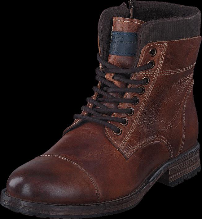 Footway SE - Senator 451-3367 Premium Cognac, Skor, Kängor & Boots, Höga kängor, Brun, Svart, 747.00