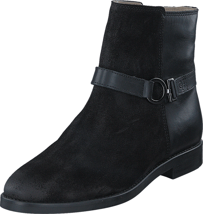 Footway SE - Marc O'Polo Paris 7LS Black, Skor, Kängor & Boots, Chelsea Boots, Blå, Dam, 1447.00