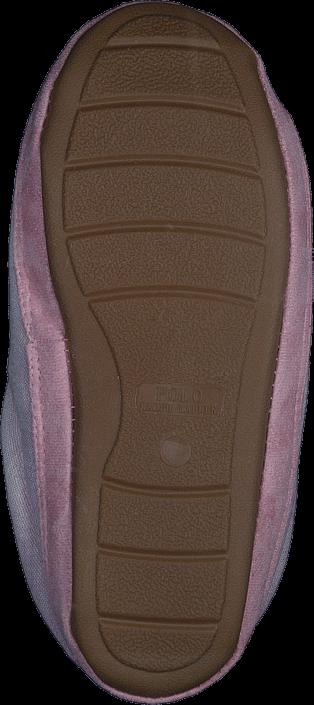 Polo Ralph Lauren Jacque Scuff Pink Chambrey