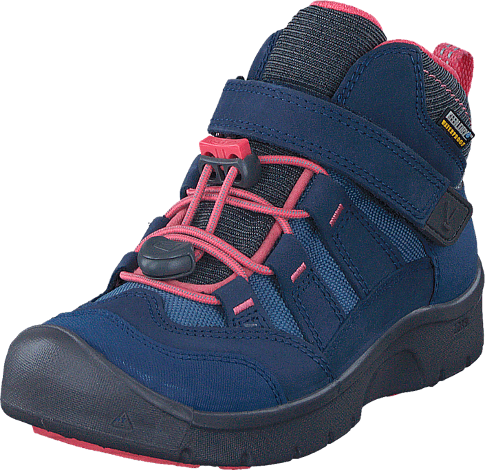 Keen - Hikeport Mid Wp Children Dress Blues/Sugar Coral