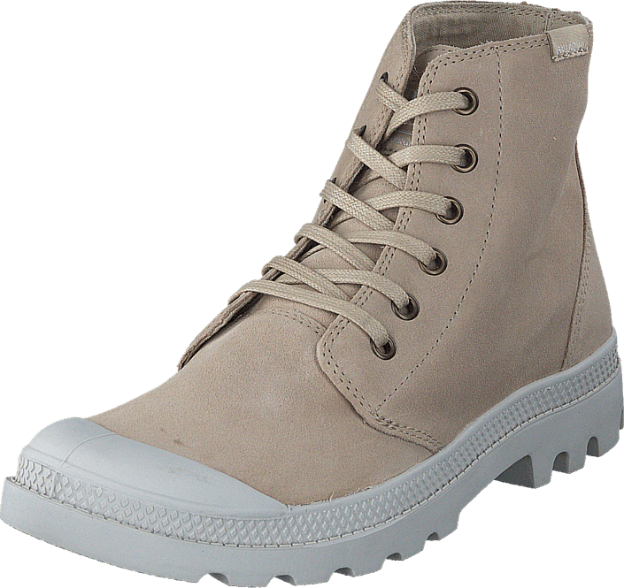 Palladium Pampa Hi Originale Suede Safari