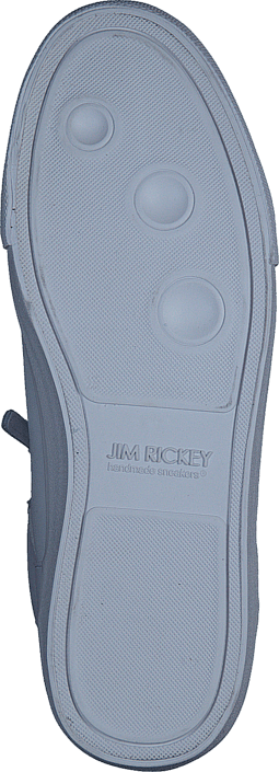 Jim Rickey Zed Mid Leather White Mono