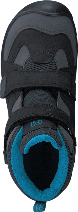 Keen - Hikeport Mid Wp Children Black /Blue Jewel