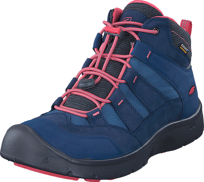 Keen Hikeport Mid Wp Youth Dress Blues/Sugar Coral