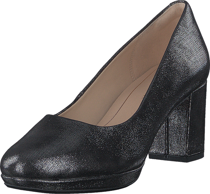 Footway SE - Clarks Kelda Hope Pewter Metallic, Skor, Klackskor, Pumps, Lila, Dam, 39 797.00