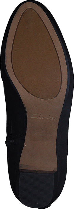 Clarks - Kelda Pearl Black Leather