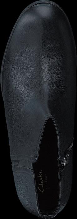 Clarks - Maypearl Ramie Black Leather