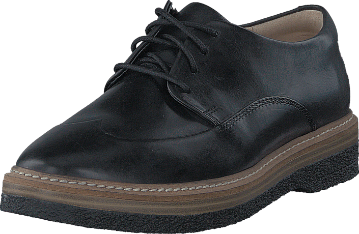 Clarks Zante Zara Black Leather