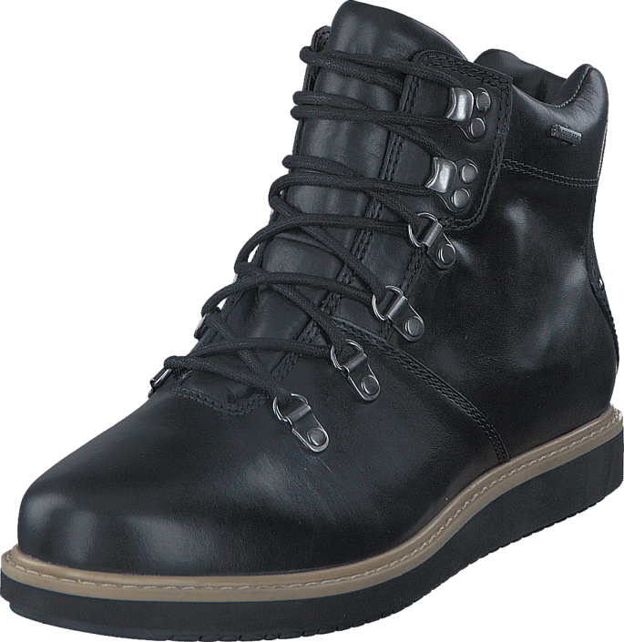 Clarks - GlickAsha GTX Black Leather