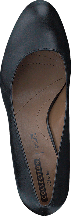 Clarks - Arista Abe Leather Black