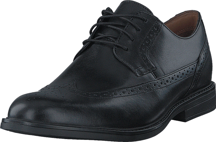 Clarks - BeckfieldLimit Black Leather
