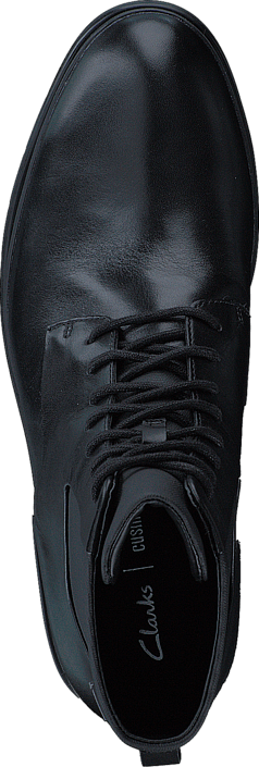 Clarks LondonPace GTX Black Leather