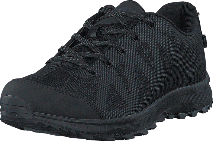 Footway SE - Halti Ligo DrymaxX Men Black, Skor, Sneakers & Sportskor, Löparskor, Svart, Grön 747.00