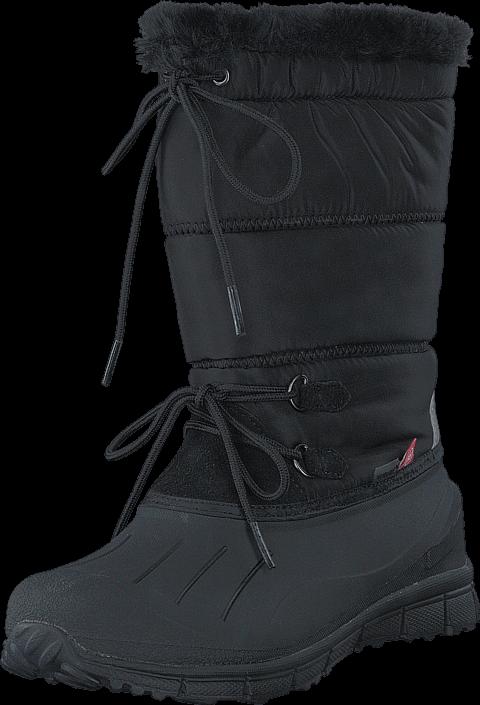 Pax Crystal Black, Sko, Boots, Varmforet boots, Svart, Unisex, 24