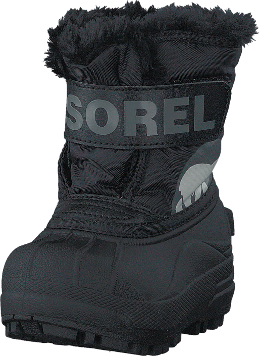 Sorel Snow Commander Toddler 010 Black
